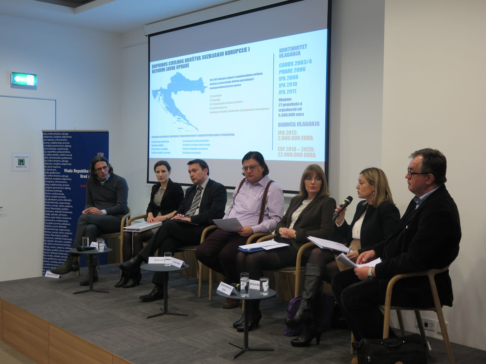 fice for Cooperation with NGOs Panel discussion on civil society